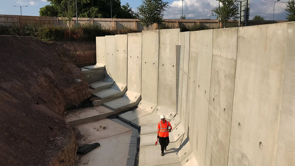 Retaining Wall Design And Its Types Used On Construction